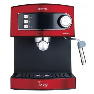 Izzy 6823 Spicy Red Barista καφετιέρα espresso 15bar