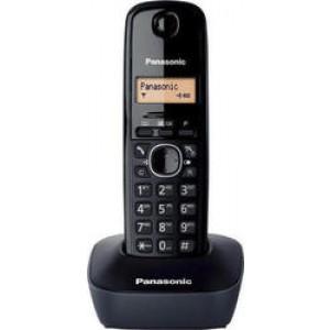 Panasonic KX-TG1611GRH Μαύρο/Γκρί