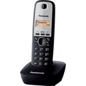 Panasonic KX-TG1611GRG Ασημί/Μάυρο
