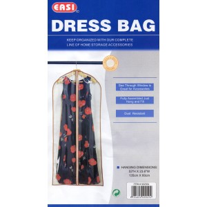 Σακούλα Αποθήκευσης Ρούχων  για Φόρεματα-Παλτά (135x60cm),Item902354