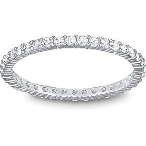 Swarovski Δαχτυλίδι-Βέρα Επιπλατινωμένο,Vittore Ring No55(5007779)