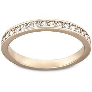 Swarovski Δαχτυλίδι-Βέρα Επιπλατινωμένο-Ροζ Χρυσό Rare Ring (5032900)Νο55