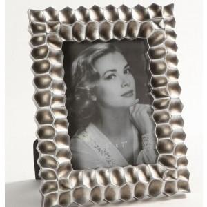 Idea Home Κορνίζα Κεραμική Ασημί (20x25cm)