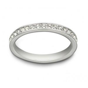 Swarovski Δαχτυλίδι-Βέρα Επιπλατινωμένο Rare Ring (1121068)