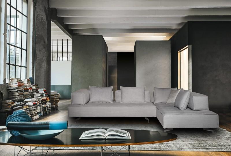Σαλόνι Γωνία Tetris 320x230x113εκ. Sofas Creations