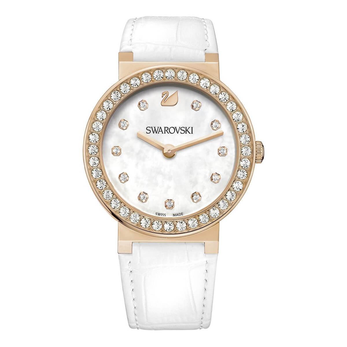 Papadatoshome SWAROVSKI Γυναικείο ρολόι CITRA Sphere chrono PVD Rose Gold  1185830 7a7b2ba8986