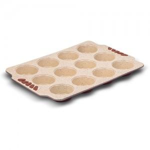 """Ταψί για muffins """"Terrestrial"""" με αντικολλητική κεραμική επίστρωση Υ3x26x38cm 10-103-046"""
