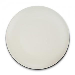 """Πιάτο ρηχό stoneware """"Soho"""" λευκό 26.5cm 10-141-070"""