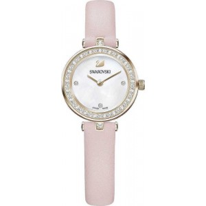 Swarovski Aila Dressy Mini Pink Leather Strap 5376648