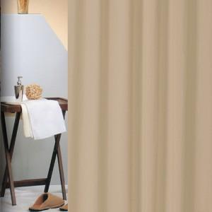 Κουρτίνα Μπάνιου Υφασμάτινη (180x180) San Lorentzo Solid Light Brown 1030ltbr