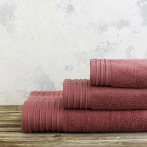 Πετσέτα Χεριών Nima Feel Fresh 40x60 Dark Terracotta