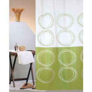Κουρτίνα Μπάνιου (240x180) San Lorentzo Duett Green 3027 GREEN