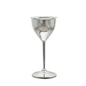 Ποτήρι Κρασιού Επάργυρο Σφυρήλατο