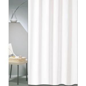 Κουρτίνα Μπάνιου Υφασμάτινη (180x200) San Lorentzo Solid Λευκό 1030B WHITE