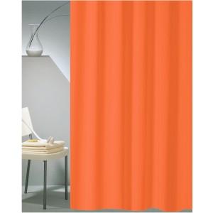 Κουρτίνα Μπάνιου Υφασμάτινη (180x200) San Lorentzo Solid Πορτοκαλί 1030B ORA