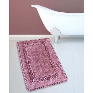 Πατάκι Μπάνιου (50x80) San Lorentzo 923 Crochet Dusty Rose 2069DUSTYR
