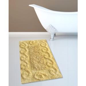 Πατάκι Μπάνιου (45x70) Κίτρινο Cotton Spiral Loop San Lorentzo (2110LIM)