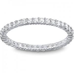 Swarovski Δαχτυλίδι Βέρα No55 Επιπλατινωμένο, Vittore (5007779)