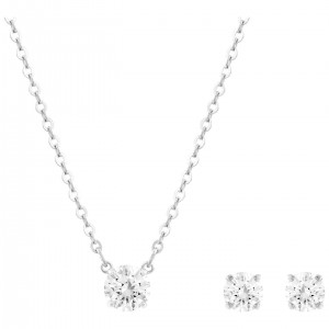 SWAROVSKI Σέτ ATTRACT Rhodium shiny 5113468