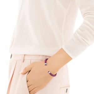 Swarovski Βραχιόλι, Crystaldust Cuff Pink (5292439)