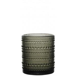 Σετ 6 Τεμ. Ποτήρια Ουίσκυ Drops Grey Home Fashion TM (5423407)