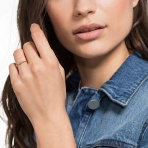 Swarovski Δαχτυλίδι Νο55 Επίχρυσο Ροζ Χρυσό, Penelope Cruz MoonSun (5486603)