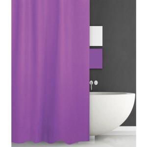 Κουρτίνα Μπάνιου (180x200) San Lorentzo Solid Purple 1030B/PURP