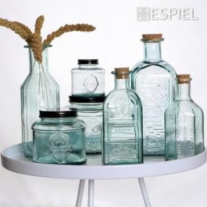 Μπουκάλι Γυάλινο Διάφανο 2lt 29εκ. Espiel (MED106K6)