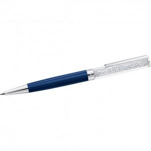 Swarovski Επιπλατινωμένο Στυλό Σκούρο Μπλε 5351068