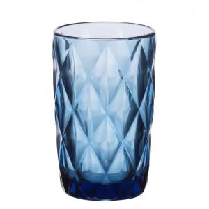 Σετ 6 Τεμ. Ποτήρια Σωλήνα Kare Blue Cryspo Trio (KR-BL100)