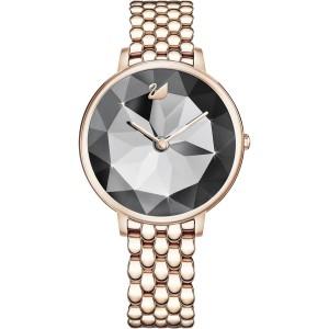SWAROVSKI Γυναικείο ρολόι Σαμπανιζέ CRYSTAL LAKE PVD Champagne Gold Tone 5416026