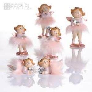 Αγγελάκια Με Ροζ Γούνα 18εκ. Assort. Espiel (MT2419K2)