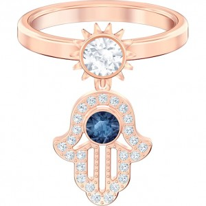Swarovski Δαχτυλίδι Νο55 Επίχρυσο Ροζ Χρυσό, Symbolic Motif (5510068)