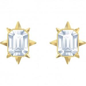 Swarovski Σκουλαρήκια Επίχρυσα Κίτρινο Χρυσό, Tarrot Magic (5494019)