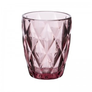 Σετ 6 Τεμ. Ποτήρια Γυάλινο Ουίσκυ Kare Purple Cryspo Trio (5270251)