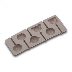 """Φόρμα σιλικόνης για cake pops και γλειφιτζούρια """"Misty"""" Y2x24.2x9.5cm 10-111-107"""