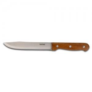 "Aνοξείδωτο ατσάλινο μαχαίρι Butcher ""Terrestrial"" με ξύλινη λαβή 20cm 10-058-046"