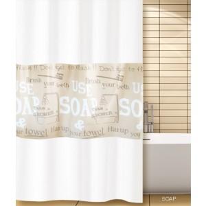 Κουρτίνα μπάνιου (180X180) Soap San Lorentzo (2043)