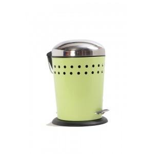 Καλαθάκι Μπάνιου Λαχανί-Inox 5lt Marva