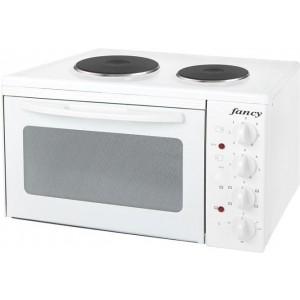 Fancy Κουζινάκι 2 μεγάλων εστιών Λευκό
