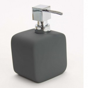 Marva Rubber Γκρι Dispenser-Σαπουνοθήκη για υγρό Σαπούνι(116558)