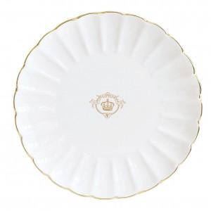Πιάτο Γλυκού Πορσελάνη Λευκό Δ19εκ. Easy Life (white1287)