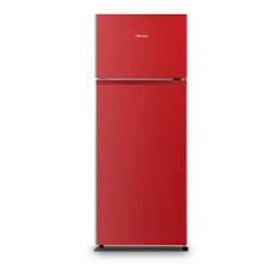 Δίπορτο ψυγείο 205Lt κόκκινο A+ Hisense RT267D4ARF