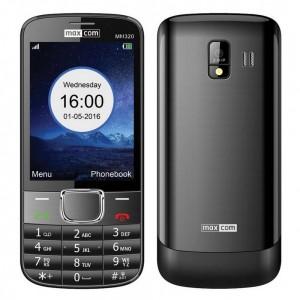 "Maxcom MM320 3.2"" με Κάμερα, Bluetooth, Φακό και Ραδιόφωνο Μαύρο"