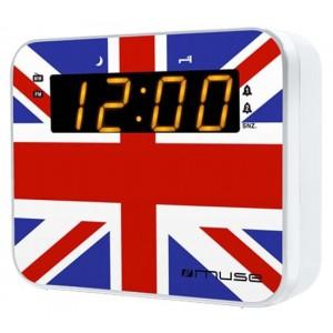 Ψηφιακό Ρολόι Επιτραπέζιο με Ξυπνητήρι Muse M-165 UK