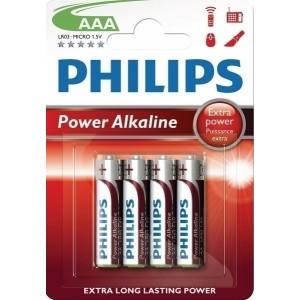 Philips Power Alkaline AAA (4τμχ)