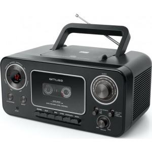 Φορητό Ράδιο-cd-Κασσέτα Muse M-182 RDC