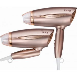 Izzy Rose Gold 3115 Σεσουάρ Ταξιδίου 2000W (223023)