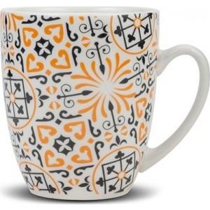 """Κούπα πορσελάνινη Nava """"Maiolica orange"""" 355ml (10-099-135)"""