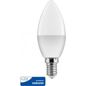 Powertech E14 5W Θερμό Λευκό (E14-004)